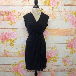 Michael Kors Sleeveless Surplice Dress